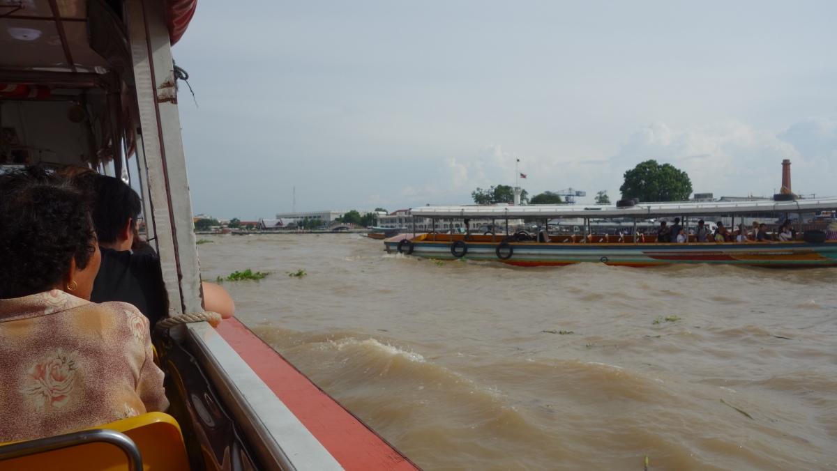 Sur la rivière Chao Phraya